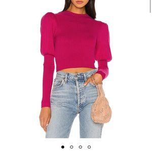 Blair Sweater in Magenta